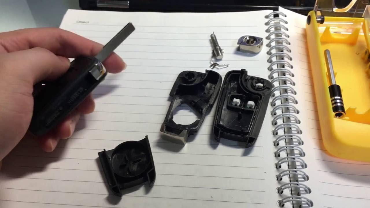 쉐보레 폴딩키 Diy 교체 리모컨 키 교체 스마트키 교체 Chevrolet Folding Key