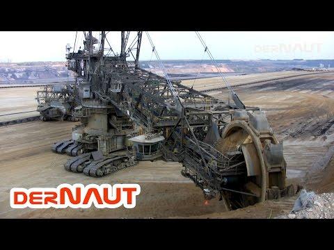 Schaufelradbagger 258, Tagebau Garzweiler! Bucket-wheel Excavator Close Up! Daylight