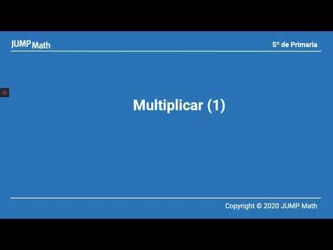 5º. Unidad 3. Multiplicar