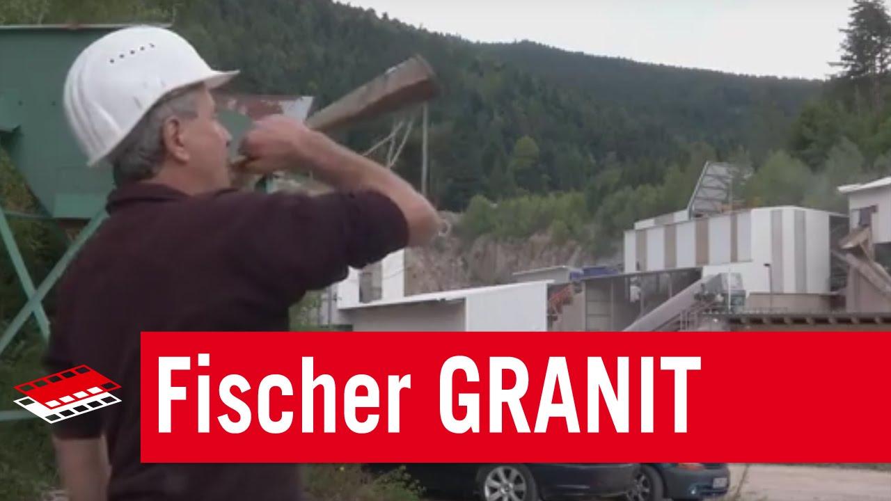 Fischer GRANIT Unternehmensfilm YouTube - Granitfliesen legen
