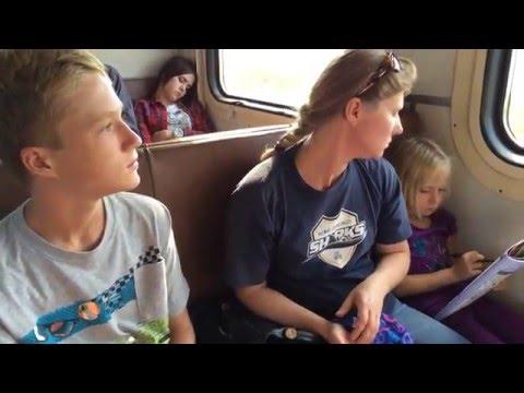 Electrical train Moscow - Vladimir, August 5, 2014 Elektrichka электри́чка Москва - Владимир