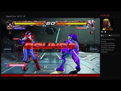 Tekken 7 Online Player Match  (Team Hwoarang)