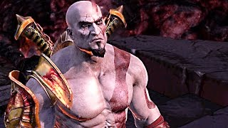 God of War 3 REMASTERED 60FPS Gameplay PS4 Boss Fight