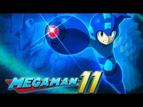 MEGA MAN 11 All Cutscenes (Game Movie) Xbox One X Enhanced 60FPS