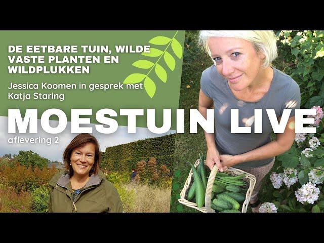 MoestuinLive aflevering 2: De nomadische tuin van Katja Staring