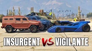 GTA 5 ONLINE - VIGILANTE VS INSURGENT (WHICH IS BEST?)