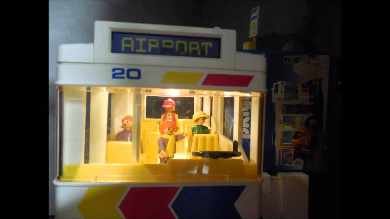 playmobil bus 1993 mit licht ausgestattet youtube. Black Bedroom Furniture Sets. Home Design Ideas