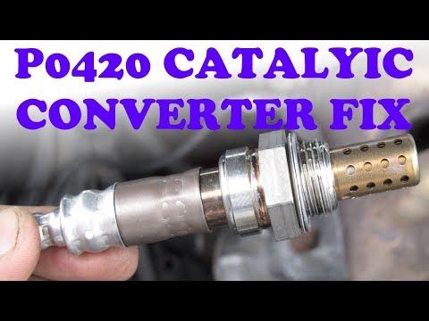 P0420 Oxygen Sensor Fix