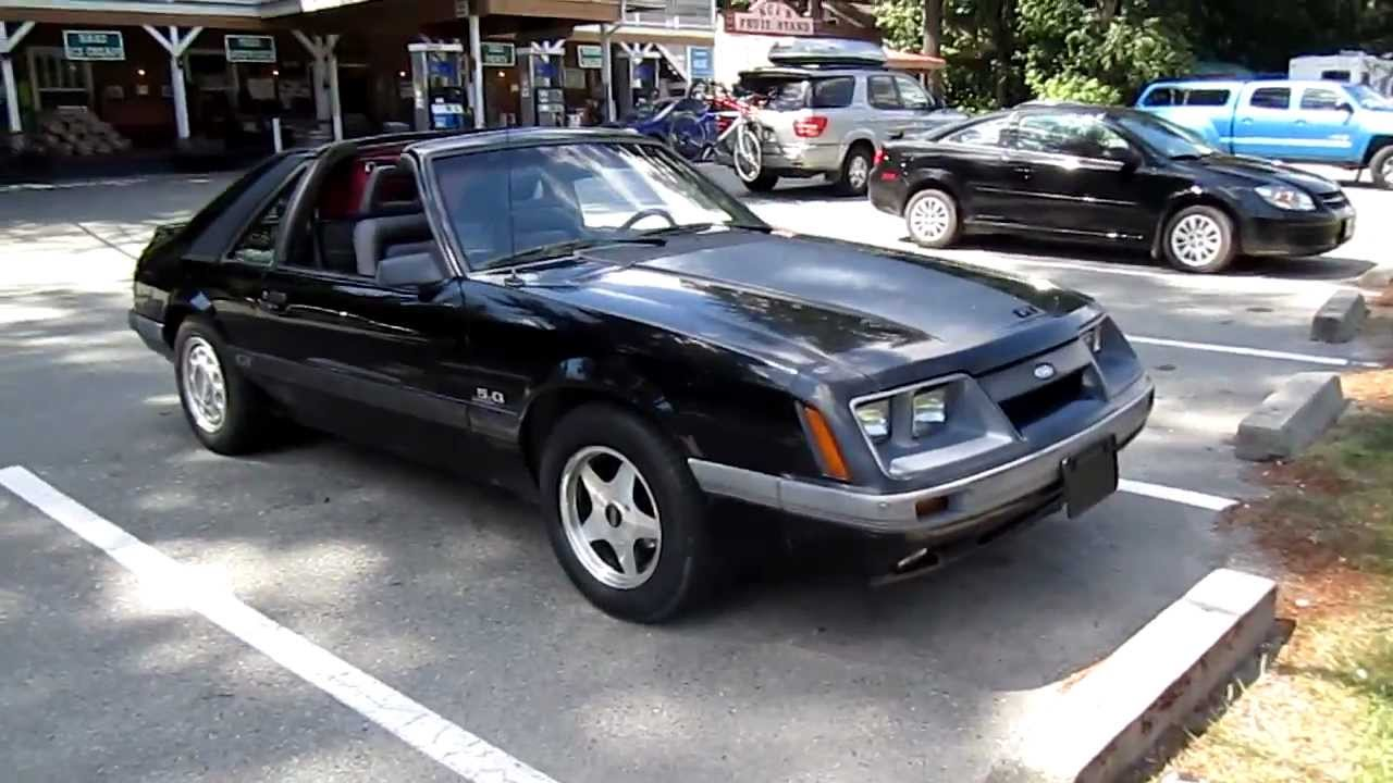 1986 ford mustang gt cobra youtube