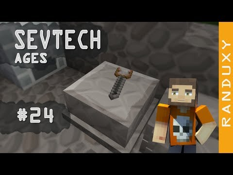 SevTech Ages: Minecraft - Ep 24 - A Dowsing Rod to find ores