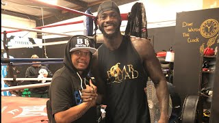 DEONTAY WILDER TRAINING CAMP LIVE UPDATE & REVIEW, HOW'S CAMP GOING ?🤔
