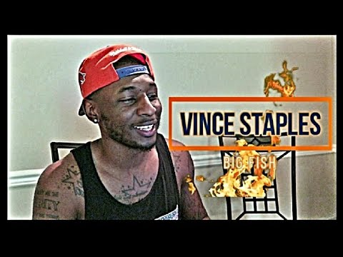 Vince Staples - Big Fish OFFICIAL VIDEO REACTION !! (Roll With D)