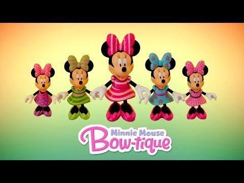 Minnie Mouse Bowtique Disney Junior Mickey Mouse Clubhouse Minnie Mouse Toys Compilation