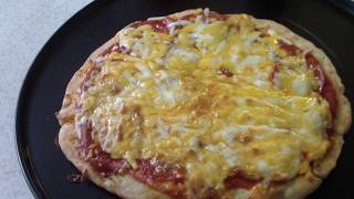 AirFryer PIZZA from Scratch 2 ingredient dough Cooks Essentials Air fryer