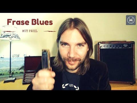 Frase BLUES MUY FÁCIL con tu armónica en C