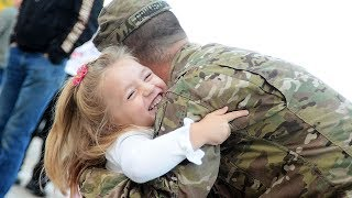 Soldiers Homecoming Surprises Kids Compilation