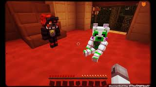 Minecraft FNAF tangle and lefty and me lolbit😀
