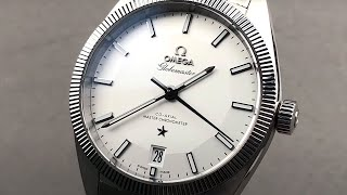 Omega Constellation Globemaster 130.30.39.21.02.001 Omega Watch Review