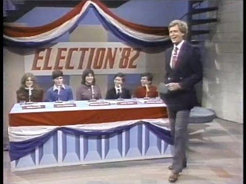 Jr. High School Election on Late Night, November 10, 1982