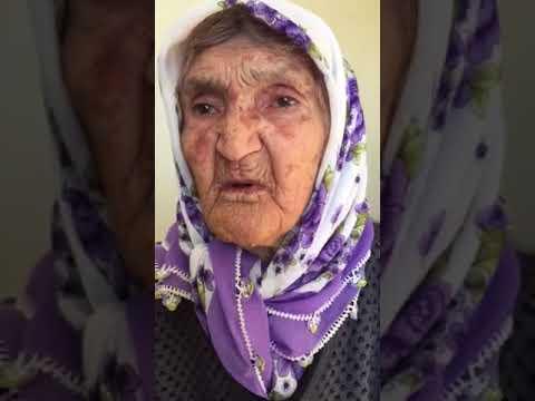 90 lık Hayriye Nine'den Mehmetçik'e Mesaj Var