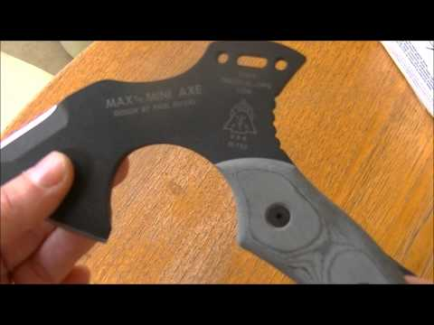 Meet Max the Mini Axe from Tops Knives