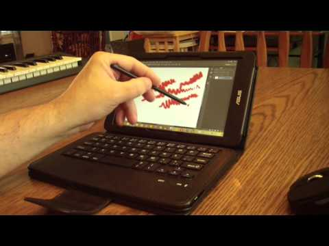 Asus VivoTab Note 8 for the Digital Artist and Musician