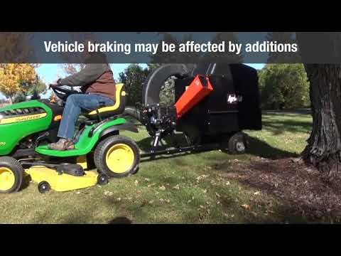 Agri-Fab Remote Hose Kit Vacuum Leaf Blower Attachment Mow-N-Vac//Chip-N-Vac