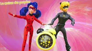 Vidéo en français pour enfants. LadyBug et Chat Noir. La nouvelle aventure.