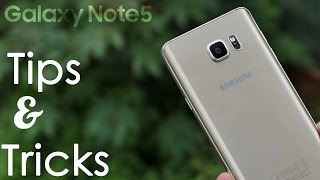 Galaxy Note 5 - Tips, Tricks & Hidden Features