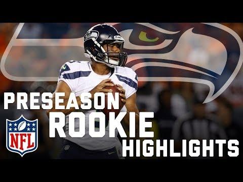 Russell Wilson's Rookie 2012 Preseason Highlights | NFL