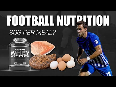 How Much Protein Can The Body Absorb In A Single Meal? | Nutrition For Footballers