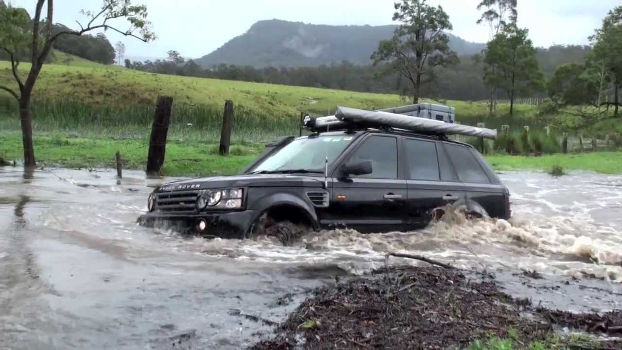 Range Rover Sport 4wd Fjords Flooding Creek Land Rover