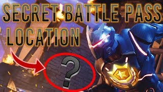 Fortnite | *SECRET* Free Battle Pass Tier Location!