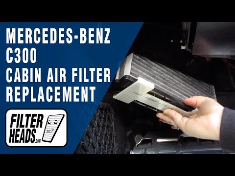 How to Replace Cabin Air Filter 2013 Mercedes-Benz C300