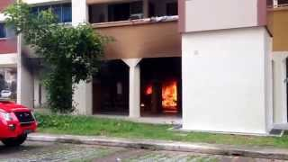 Fire at bukit batok st 11 blk 162