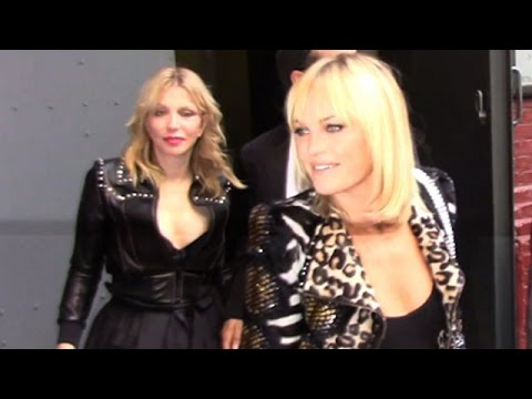 Malin Akerman And Courtney Love At Marc Jacobs