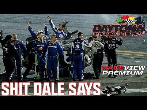 Dale Earnhardt Jr. UNCENSORED reaction to crash || Coke Zero 400 2015
