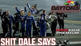 Dale Earnhardt Jr. Uncensored Reaction To Crash    Coke Zero 400 2015