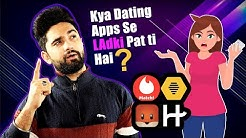 Top 5 Dating Apps In India | Make Girlfriend Online | Tried And Tested Apps For Singles 😍