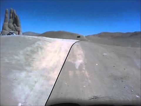 La Mano del Desierto com KTM 990 Adventure