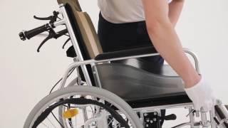 видео Инвалидные коляски с подголовником