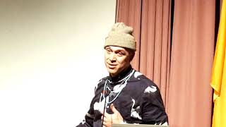 Beyond Standing Rock – Museum of Indian Art and Culture) and Artist Panel  Cannupa Hanska Luger
