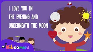Skidamarink I Love You Nursery Rhyme | Skid-a-ma-rink Song Lyrics for Kids | Best Kids Songs