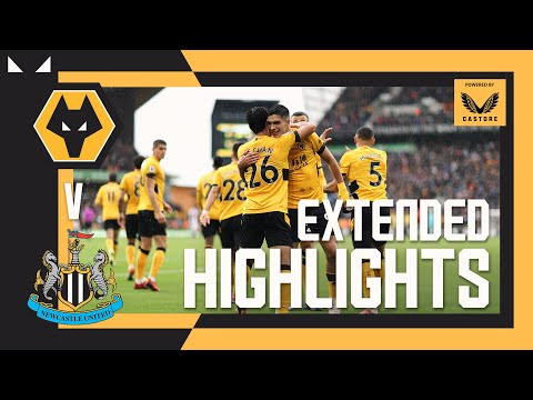JIMENEZ TO HWANG X2 | Wolves 2-1 Newcastle | Extended highlights