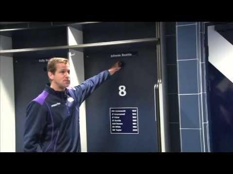A Player's tour of Murrayfield with Chris Paterson.