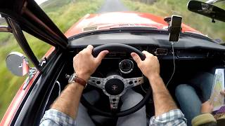 1965 Ford Mustang Fastback V8  - POV TEST DRIVE Through The Scottish Highlands