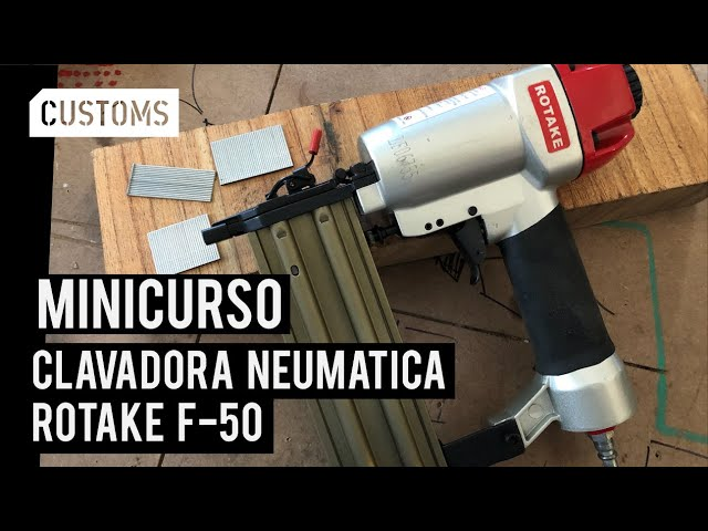 Clavadora Rotake F50 | MINICURSO | CUSTOMS