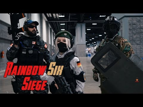 Best Rainbow Six Siege Cosplay Video// Otakon 2019
