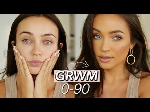 GRWM: 0-90 *in a hurry using new products* thumbnail