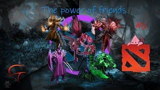Dota 2 lol Gank Fight?The power of friends!!#6